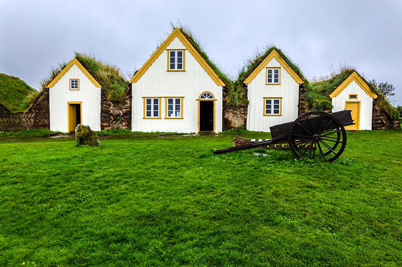 Iceland S Medieval Turf Houses Merge Beautifully With