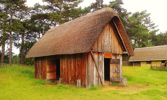 Anglo Saxon And Viking Houses History Daily