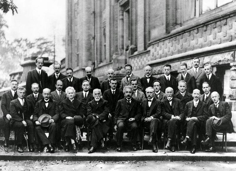 Solvay Conference Photo