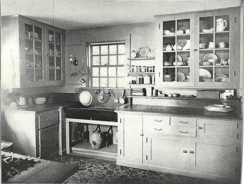 Photos Of Old Kitchens From 1860 To, 1900 Kitchen Cabinets