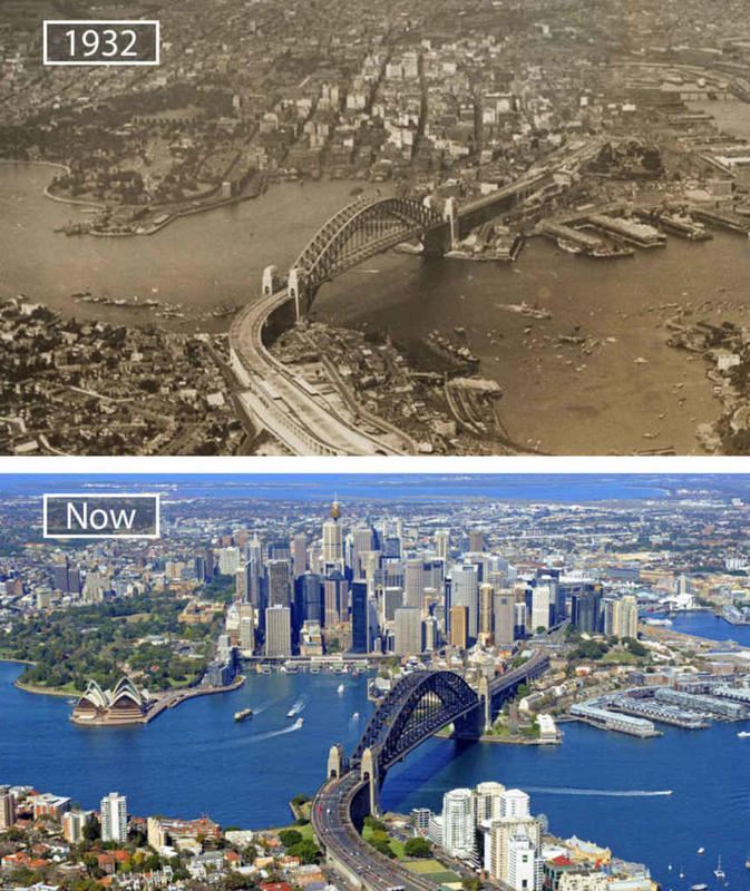 Cities Then and Now 3