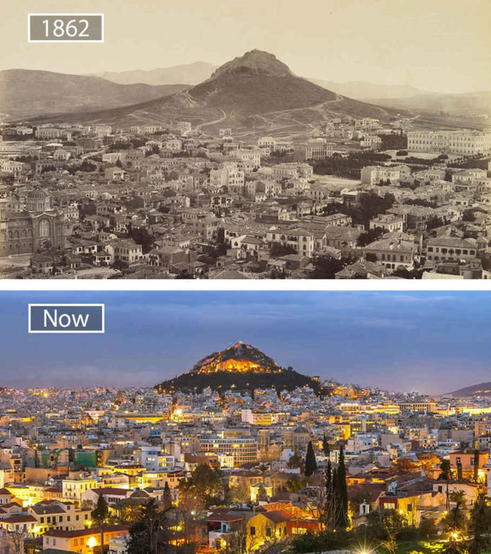 Cities Then and Now 8