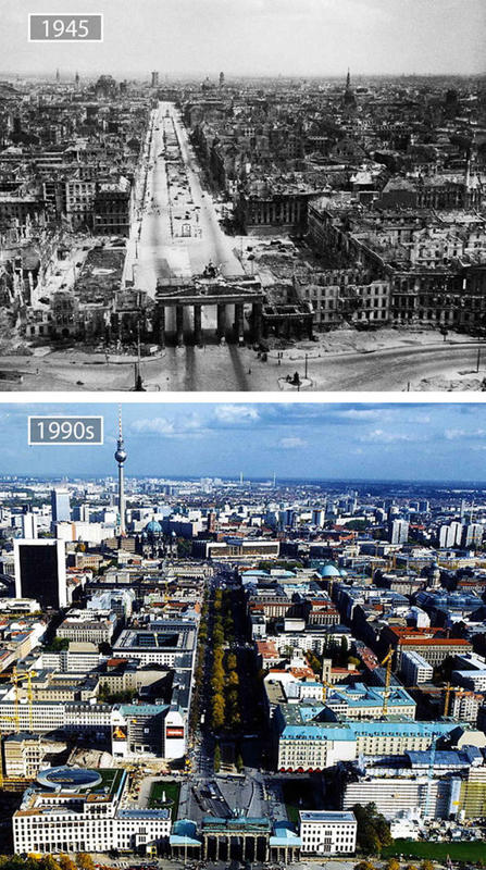 Cities Then and Now 7