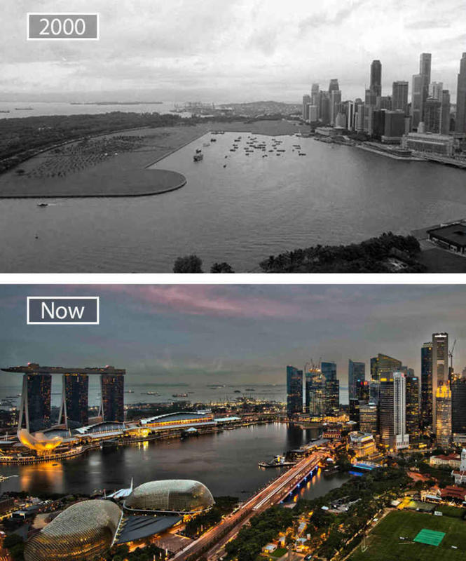 Cities Then and Now 4