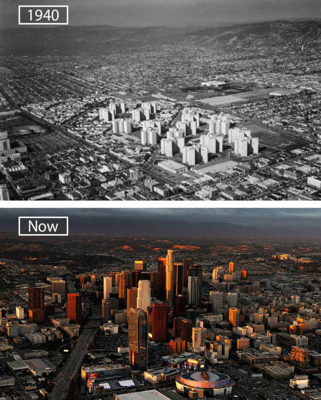 Cities Then and Now 12