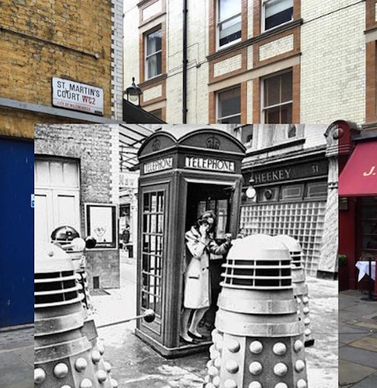 Historic Scenes from the Past with the Present 9