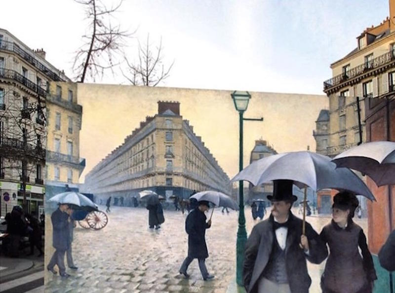 Historic Scenes from the Past with the Present 13