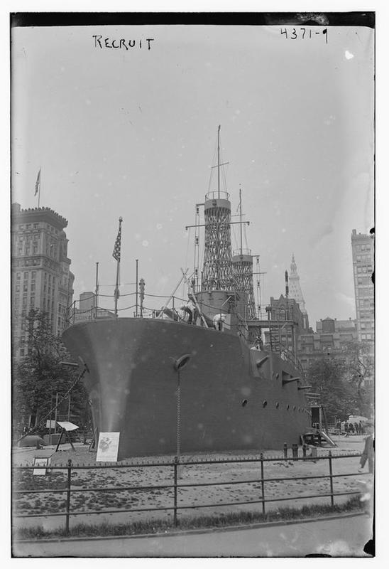 Full-Size Battleship In NYC 5