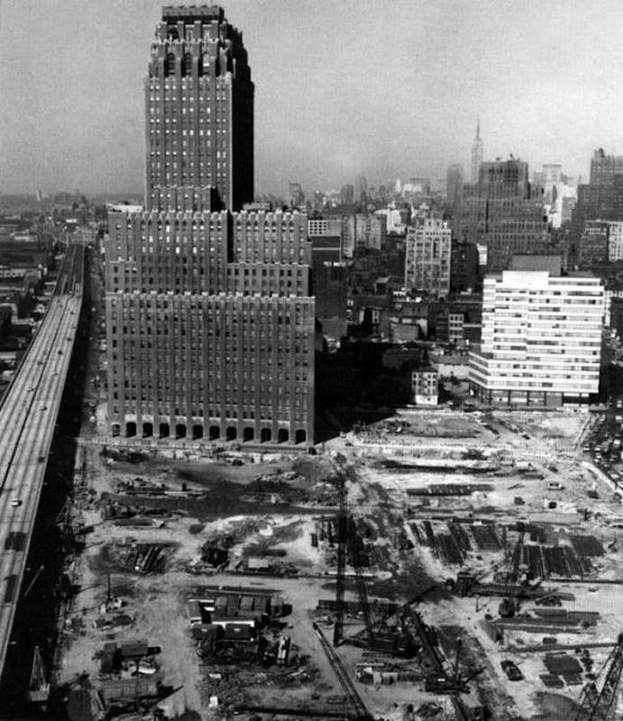 construction of twin towers 2