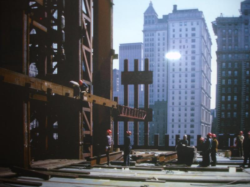construction of twin towers 18