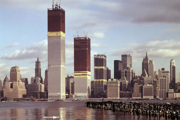 construction of twin towers 10