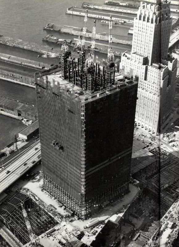 construction of twin towers 5