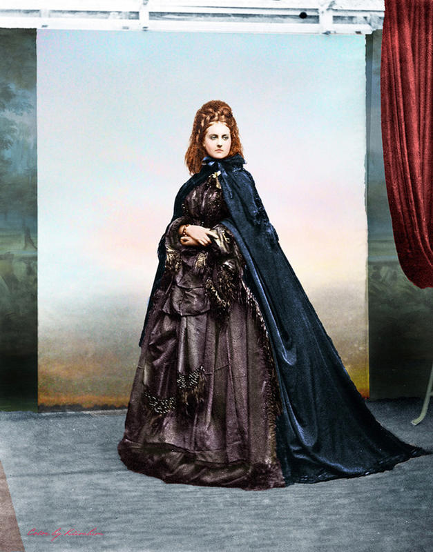 colorized victorian portraits 7