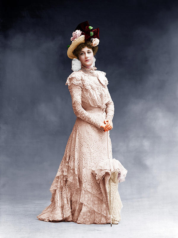 colorized victorian portraits 11