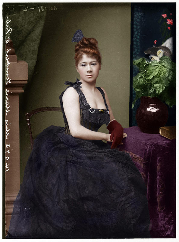 colorized victorian portraits 12