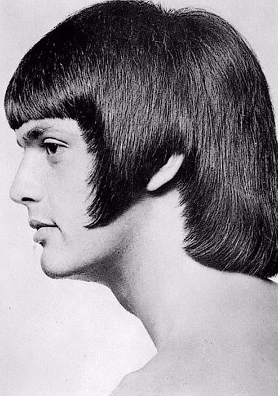 Romantic Men's Hairstyle from the 1960s - 1970s | History ...