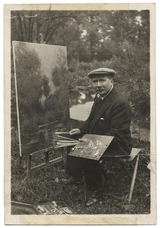 vintage-photos-of-artists-at-work-6