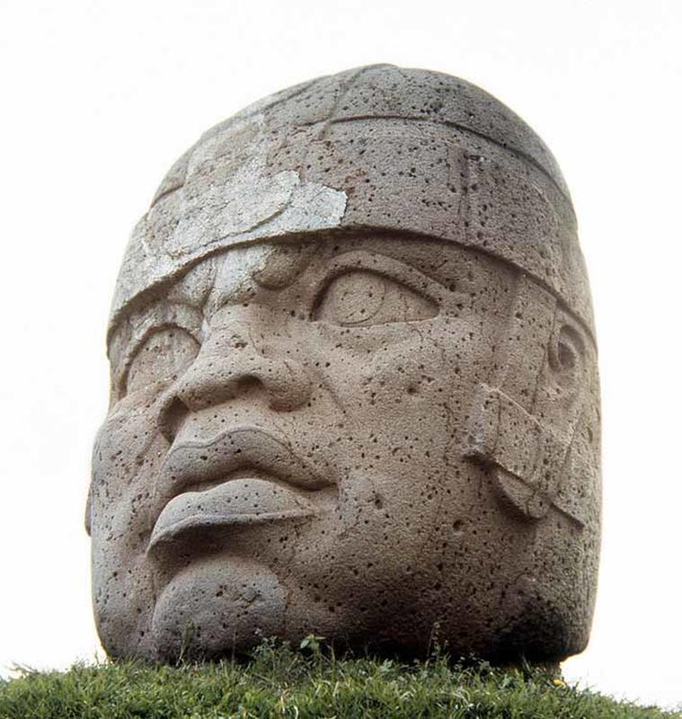the olmec heads, mexico