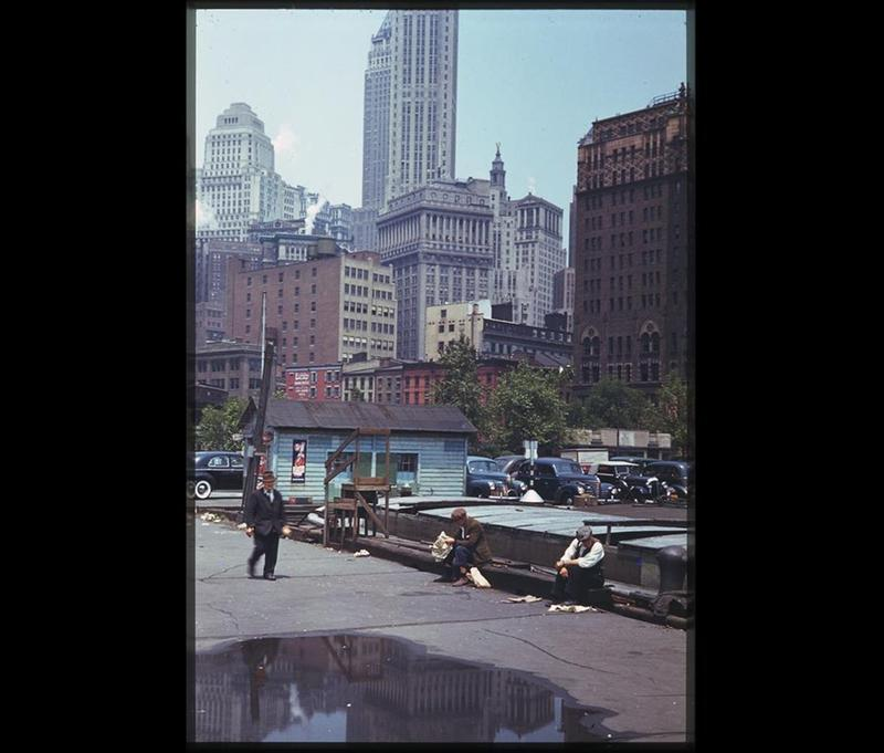 Vintage Colored Photos Show What New York City Looked Like