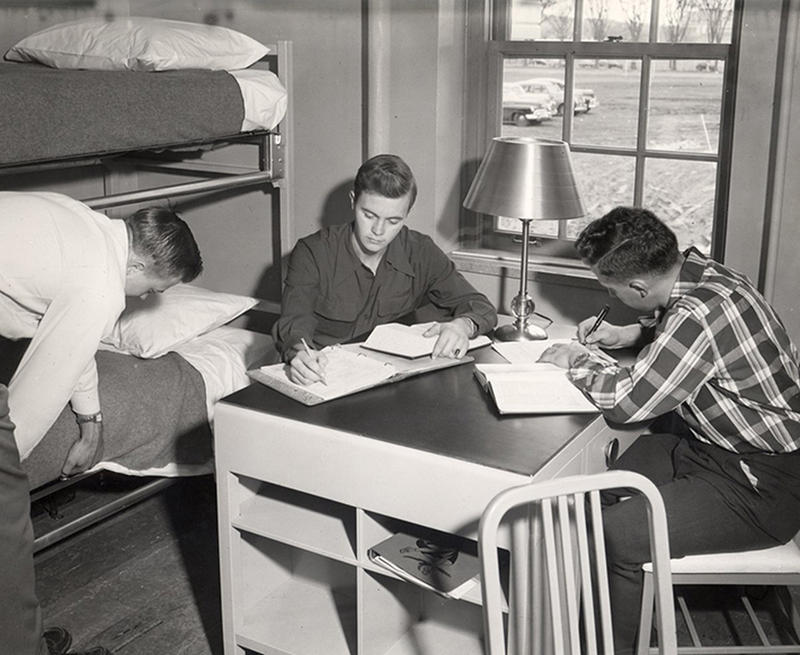 vintage dorm photos 12