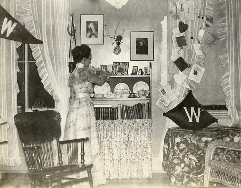vintage dorm photos 1