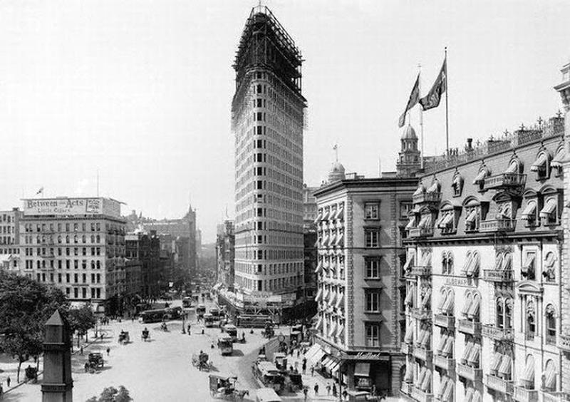 Flatiron Building Under Construction (8)