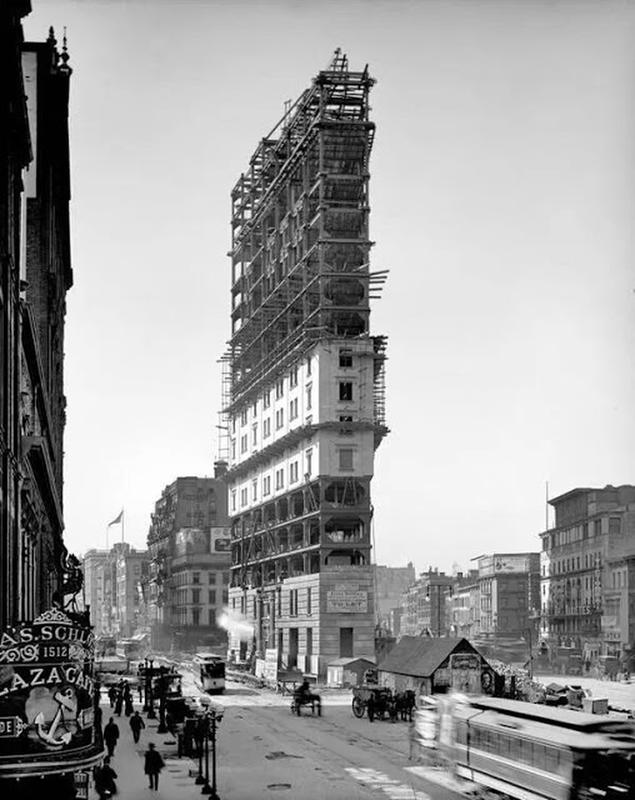 Flatiron Building Under Construction (5)