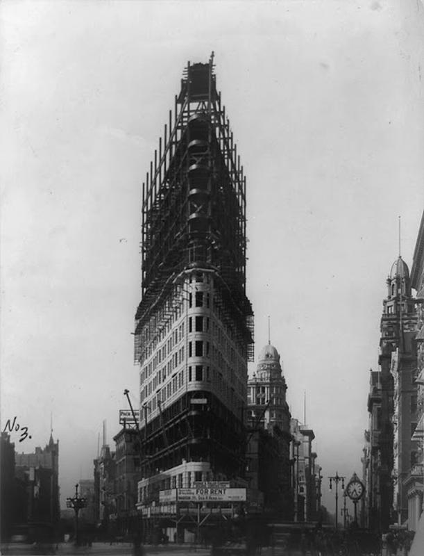 Flatiron Building Under Construction (3)