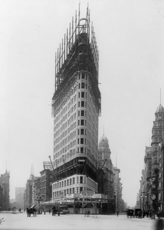 Flatiron Building Under Construction (2)