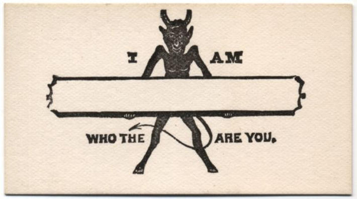 19 century pick up lines - business cards 18