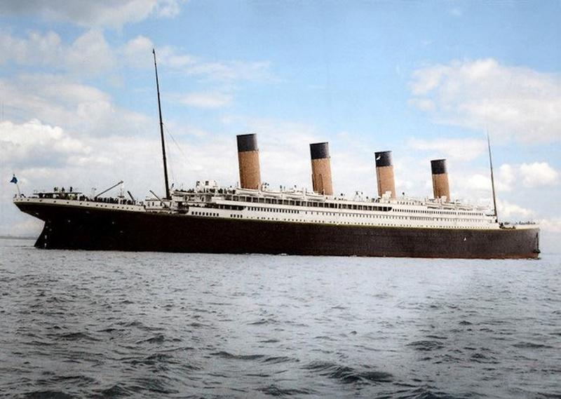 titanic in color 7