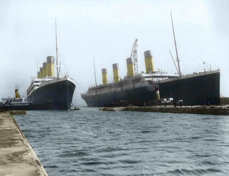 titanic in color 2