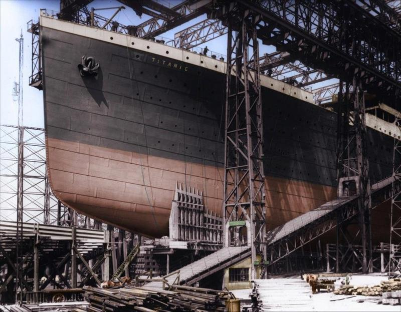 titanic in color 4