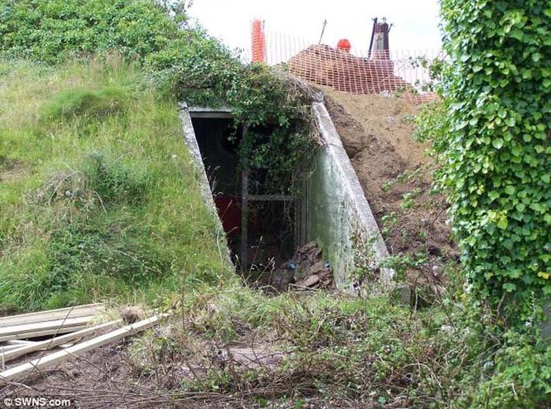 wwII bunker converted into a bungalow 8