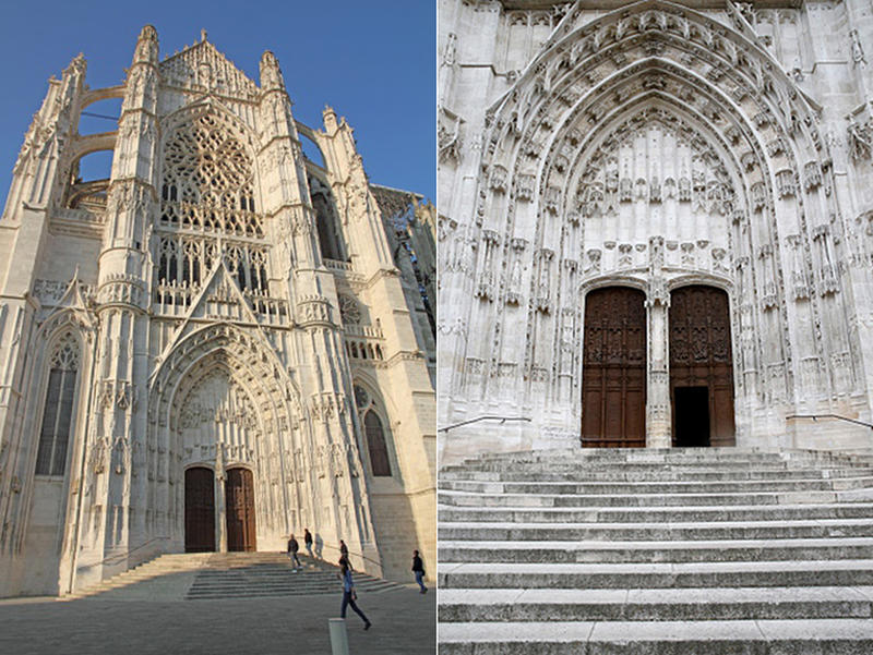 Cathedral of Saint Peter of Beauvais 3 - 4