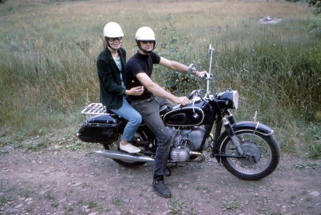 Classic Motorbikes in the 1950s-60s (19)