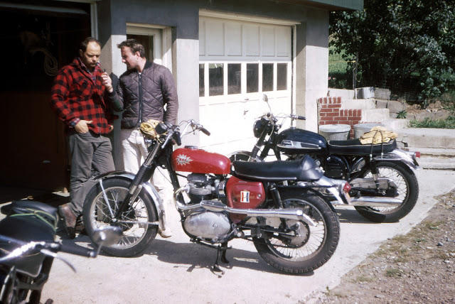 Classic Motorbikes in the 1950s-60s (21)