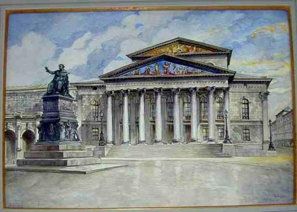 adolf hitler paintings 12