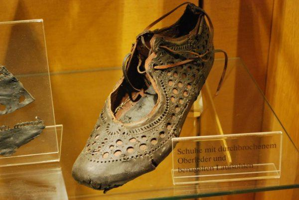 roman shoe found in well