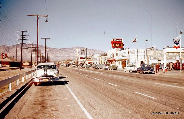Streets of USA in the 1950s (3)