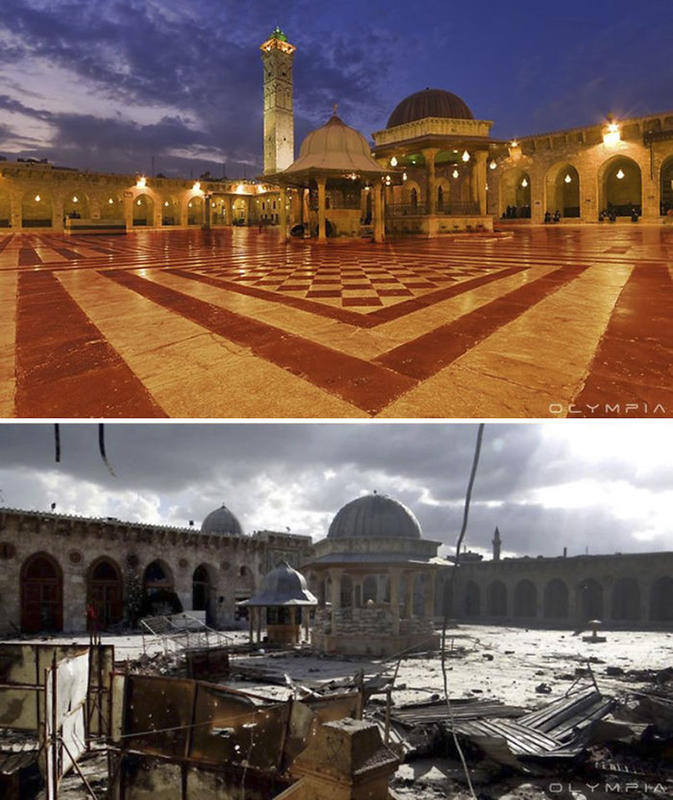 syria before after war 6