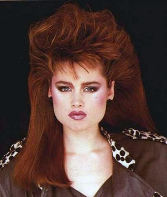 Women Rock Hairstyle in the 1980s (8)
