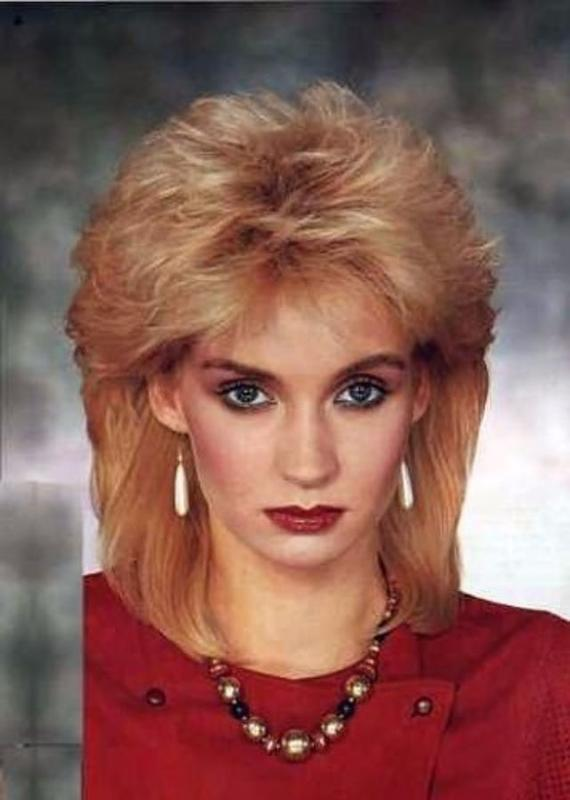 Women Rock Hairstyle in the 1980s (7)
