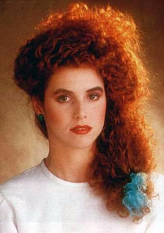 Women Rock Hairstyle in the 1980s (3)