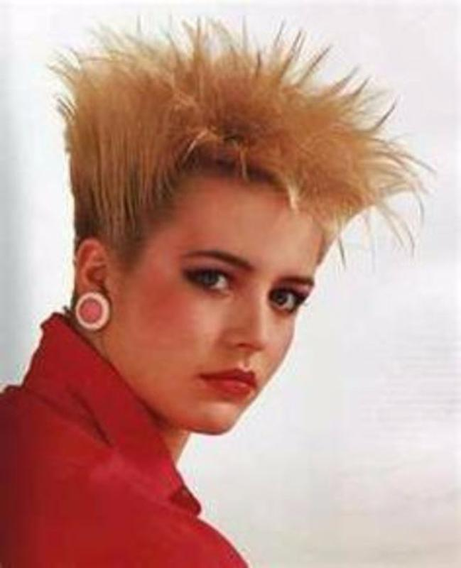 Women Rock Hairstyle in the 1980s (24)