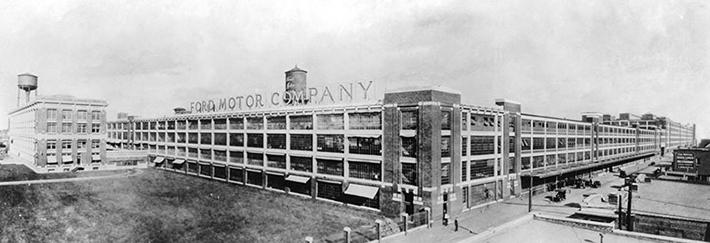 Ford's Highland Park Plant, Known As The 'Crystal Pala