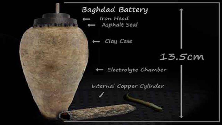 archaeological discoveries - baghdad battery