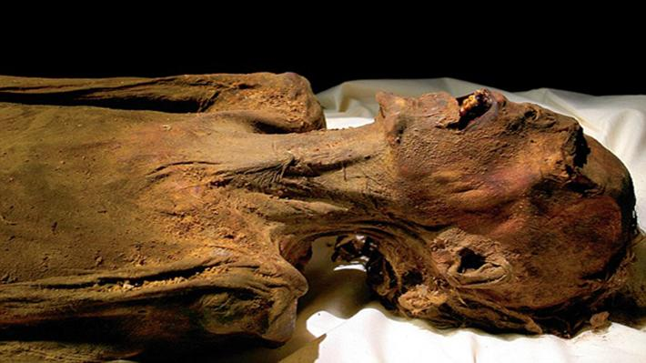 archaeological discoveries - the screaming mummies