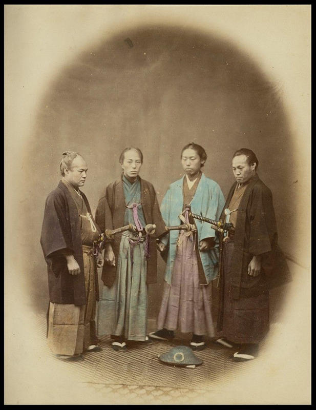 Incredible Portraits of Real Japanese Samurai of The 19th ...