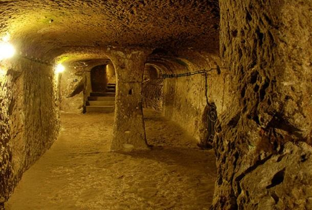 underground city at Derinkuyu 8
